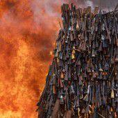 Kampf gegen illegalen Waffenbesitz