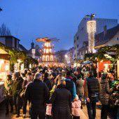 Bregenzer Weihnachtsmarkt eröffnet