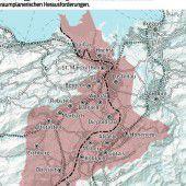Das Rheintal rückt enger zusammen