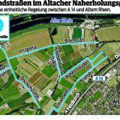 Altach verordnet  weitere Fahrradstraßen