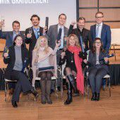 Zehn Vorarlberger Berufsakademiker
