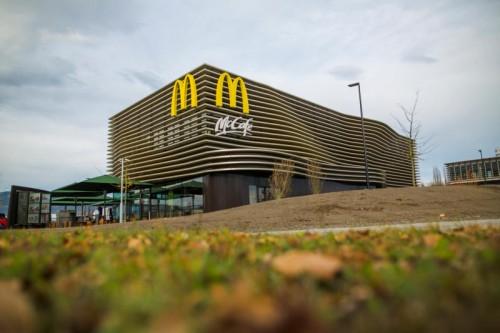 Das McDonald's-Restaurant in Lustenau wurde Ende November 2016 eröffnet. Foto: VN/Paulitsch