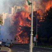 Brände in Israel breiten sich aus