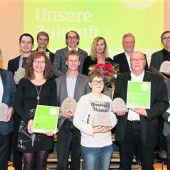 Schüler, Unternehmer und Gemeinden mit dem VN-Klimaschutzpreis 2016 ausgezeichnet