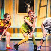 Vorarlberger Landestheater bereitet Spaß mit Pippi Langstrumpf