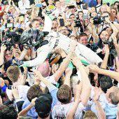 Nico Rosberg reichte Platz zwei zur Krönung