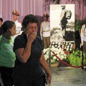 Kubaner trauern um Castro