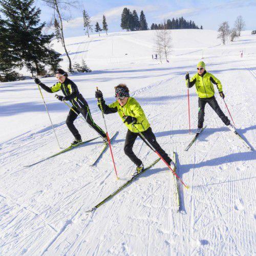 LanglauferlebnisDer Nordic Sport Park in Sulzberg bietet ein Loipennetz von rund 20 Kilometern. Teils sogar beleuchtet, so dass bis 20.30 Uhr gelaufen werden kann. Für Kinder steht eigens ein Skipool zur Verfügung.