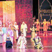 Nabucco geht auf Tournee