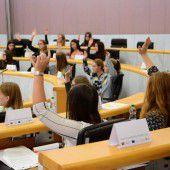 Mädchenparlament traf sich in Bregenz