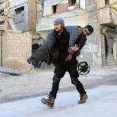 Aleppos Rebellen im Höllenfeuer