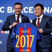 Millionendeal für Barça mit Trikotsponsor