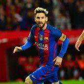 Messi bringt die Konkurrenz ins Schwärmen