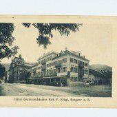 vorarlberg einst und jetzt. Das Hotel Österreichischer Hof in Bregenz