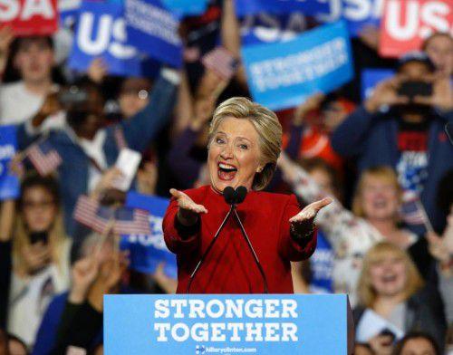 Clinton und Trump haben in einem ereignisreichen Wahlkampf um das höchste Amt im Staat gekämpft.