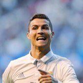 Real siegt und bindet Ronaldo bis 2021