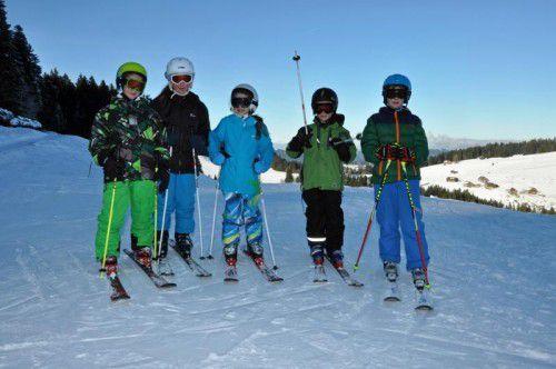 Das Skigebiet Bödele oberhalb von Dornbirn eignet sich für Kinder und Jugendliche perfekt, um Skifahren oder Snowboarden zu lernen. Foto: lcf