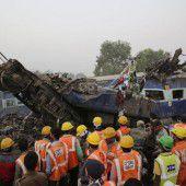 Mehr als 100 Tote bei Zugunglück in Indien
