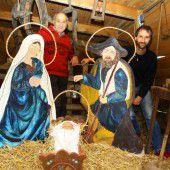 62.000 Lichter: Die Familie Lukanz in ihrem Weihnachtswunderland