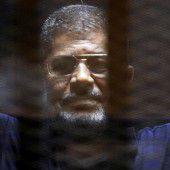 Mursi entkommt Todesurteil