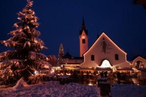 Der Adventmarkt in Schwarzenberg. lb
