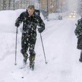 Schneeeinbruch sorgt in Stockholm für Chaos