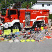 730.000 Euro für drei neue Feuerwehrautos