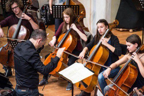 Die Studierenden erarbeiteten ein Konzertprogramm auf hohem Niveau. foto: Victor Marin Roman