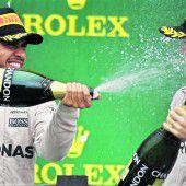 Rosbergs WM-Party fiel ins Wasser