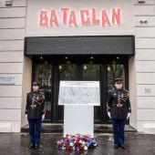 Stilles Gedenken an Terroropfer
