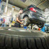 Höchste Zeit für den Reifenwechsel am Auto