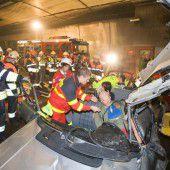Pfändertunnel wegen Einsatzübung gesperrt