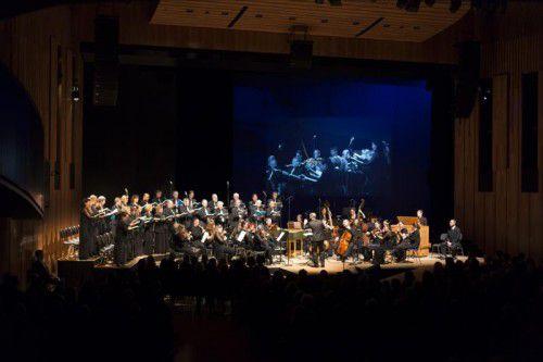 """Aufführung des Oratoriums """"Der Messias"""" von Händel im Rahmen der Montforter Zwischentöne in Feldkirch. Zwischentöne/Mathis"""