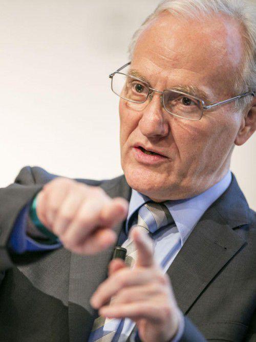 Ökonom Ernst Fehr ist Redner beim heurigen Wirtschaftsforum.FA