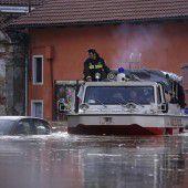 Zwei Menschen vermisst bei Unwettern in Italien