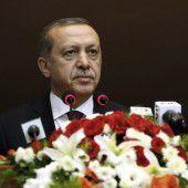 Erdogan sieht Westen an der Seite der Terrormiliz IS