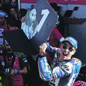 KTM nicht im Ziel, Lorenzo dominierte