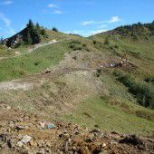 Skiweg Kreuzle in Schoppernau wird ausgebaut