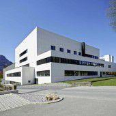 Spital Bludenz als Großbaustelle