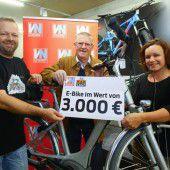 E-Bike fand seinen Gewinner
