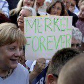 Merkel tritt wieder als Kanzlerkandidatin an