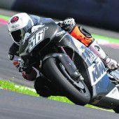KTM gibt das Debüt in der MotoGP-Klasse