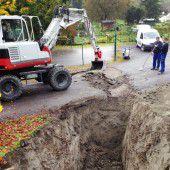 Baustart für Grenzkiosk