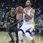 13 Dreier von Stephen Curry in einem Spiel