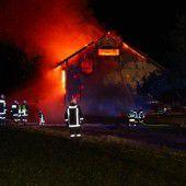 Suche nach der Brandursache