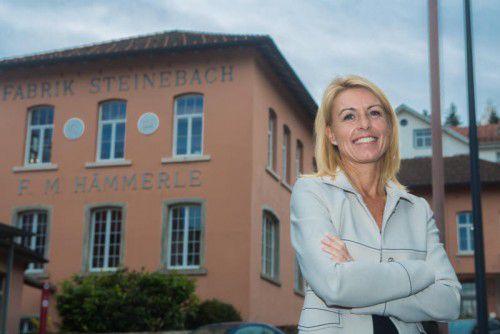 Petra Kreuzer hat im Steinebach eine private Kinderbetreuung initiiert. vn