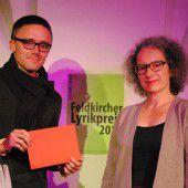 Feldkircher Lyrikpreis für zwei Autoren