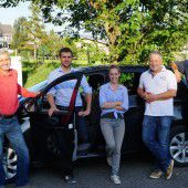 lingeNOW: Autoteilen in Lingenau