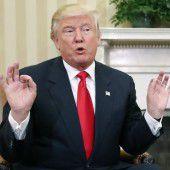Trump empört sich über angeblichen Wahlbetrug