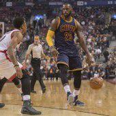 Cleveland bleibt in der NBA das Maß der Dinge